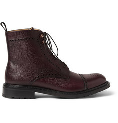 O'Keeffe Felix Leather Brogue Boots