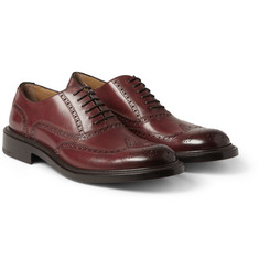 O'Keeffe Algy Thick-Sole Leather Wingtip Brogues