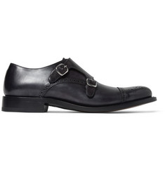 O'Keeffe Manach Leather Monk-Strap Brogues