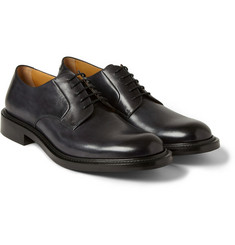 O'Keeffe Milo Hand-Polished Leather Derby Shoes