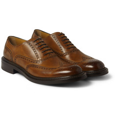 O'Keeffe Hand-Polished Leather Brogues