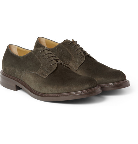 O'Keeffe Felix Suede Derby Shoes