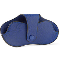 Valextra Grained Leather Sunglasses Case