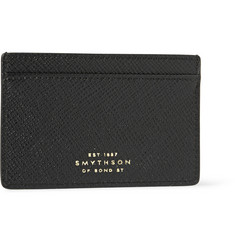 Smythson Cross-Grain Leather Cardholder