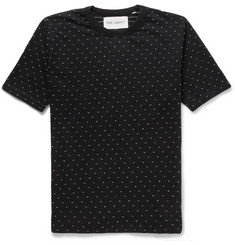 Our Legacy Jacquard Dot Cotton T-Shirt
