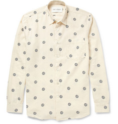 Our Legacy Printed Cotton and Wool-Blend Shirt