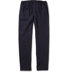 Our Legacy Relaxed-Fit Crinkled Wool Trousers