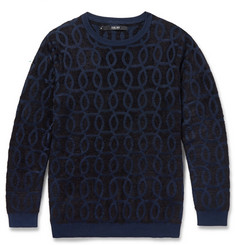 Sibling Jacquard-Knit Sweater