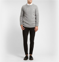 Sibling Distressed Merino Wool Sweater