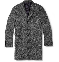 PS by Paul Smith Bouclé Tweed Overcoat
