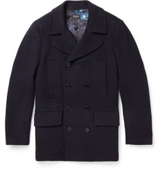 PS by Paul Smith Wool-Blend Peacoat