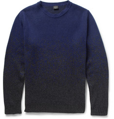 PS by Paul Smith Ombre-Effect Knitted Sweater