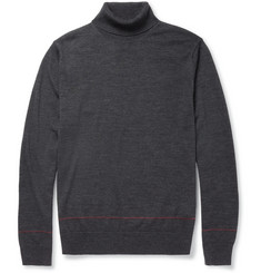 PS by Paul Smith Fine-Knit Merino Wool Rollneck Sweater