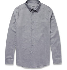 PS by Paul Smith Ombré Check Cotton Shirt