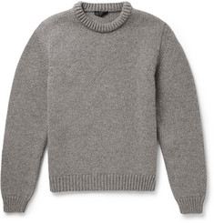 Calvin Klein Collection Wool and Cashmere-Blend Sweater