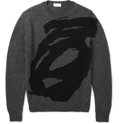 Exemplaire Intarsia Cashmere Sweater