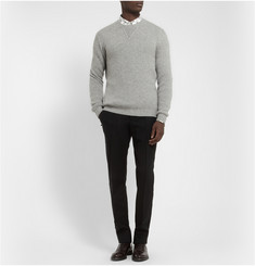 Exemplaire Knitted Cashmere Crew Neck Sweater