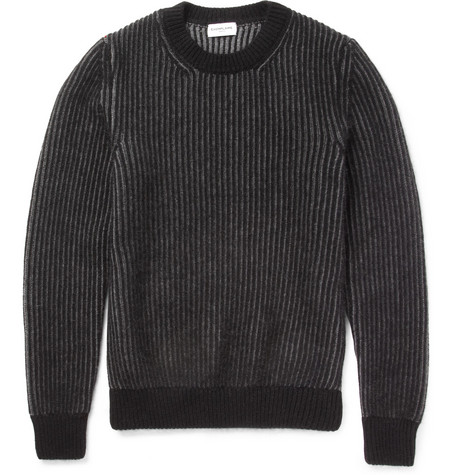 Exemplaire Cashmere and Angora-Blend Sweater