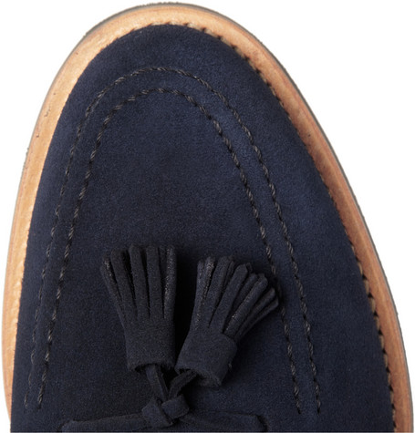 Mark McNairy Suede Tasselled Loafers
