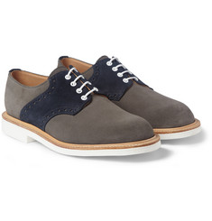 Mark McNairy Contrast-Sole Saddle Derby Shoes