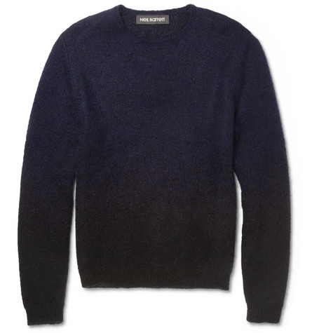 Neil Barrett Dégradé Wool-Blend Sweater