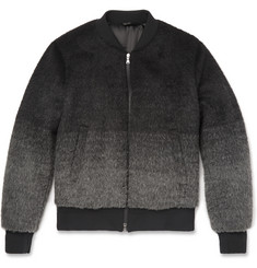 Neil Barrett Dégradé Wool-Blend Bomber Jacket
