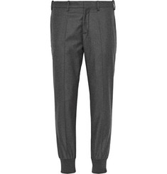Neil Barrett Tapered Wool-Flannel Trousers