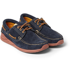 Visvim Americana Suede Deck Shoes