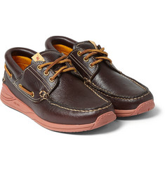 Visvim Americana Leather Deck Shoes
