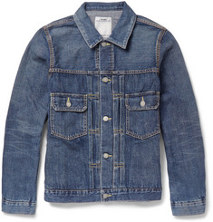 Visvim 101 Washed-Denim Jacket