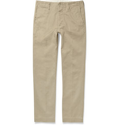 Visvim Slim-Fit Cotton-Twill Trousers