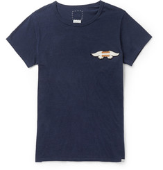 Visvim Wings Embroidered Cotton-Jersey T-Shirt