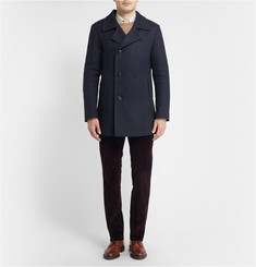 Boglioli Cotton and Wool-Blend Peacoat