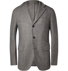 Boglioli Dover Unstructured Check Wool-Blend Blazer