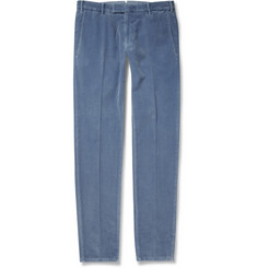 Boglioli Cotton and Cashmere-Blend Corduroy Trousers