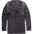The Elder Statesman - Striped Cashmere Cardigan