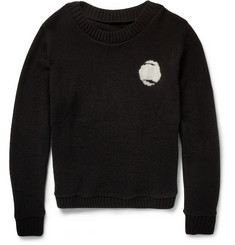 The Elder Statesman Bonsai Tree Cashmere Sweater
