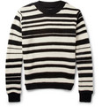 The Elder Statesman - Striped Cashmere Sweater