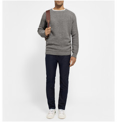 The Elder Statesman Textured-Knit Cashmere Sweater