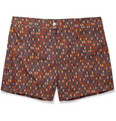 Dan Ward - Mid-Length Printed Swim Shorts