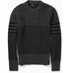 Belstaff Burstead Patterned Wool Sweater