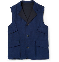 Hardy Amies Reversible Wool Gilet