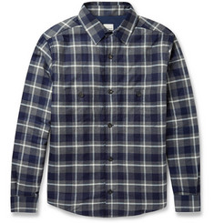 Hardy Amies Checked Cotton Overshirt