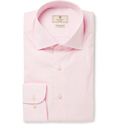 Hackett Pink Mayfair Slim-Fit Cotton-Poplin Shirt
