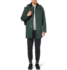 Mackintosh Dunoon Handmade Bonded-Cotton Hooded Rain Coat