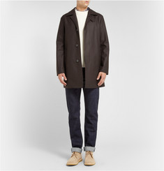Mackintosh Dunoon Storm System Wool Rain Coat