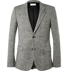 Saint Laurent Tailored Tweed Blazer