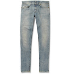 Saint Laurent Slim-Fit 15.5cm Hem Denim Jeans