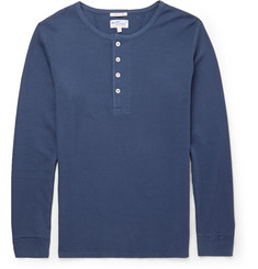 Gant Rugger Stretch-Cotton Henley T-Shirt