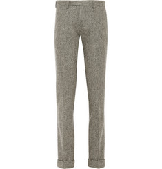 Gant Rugger Slim-Fit Wool Herringbone Trousers